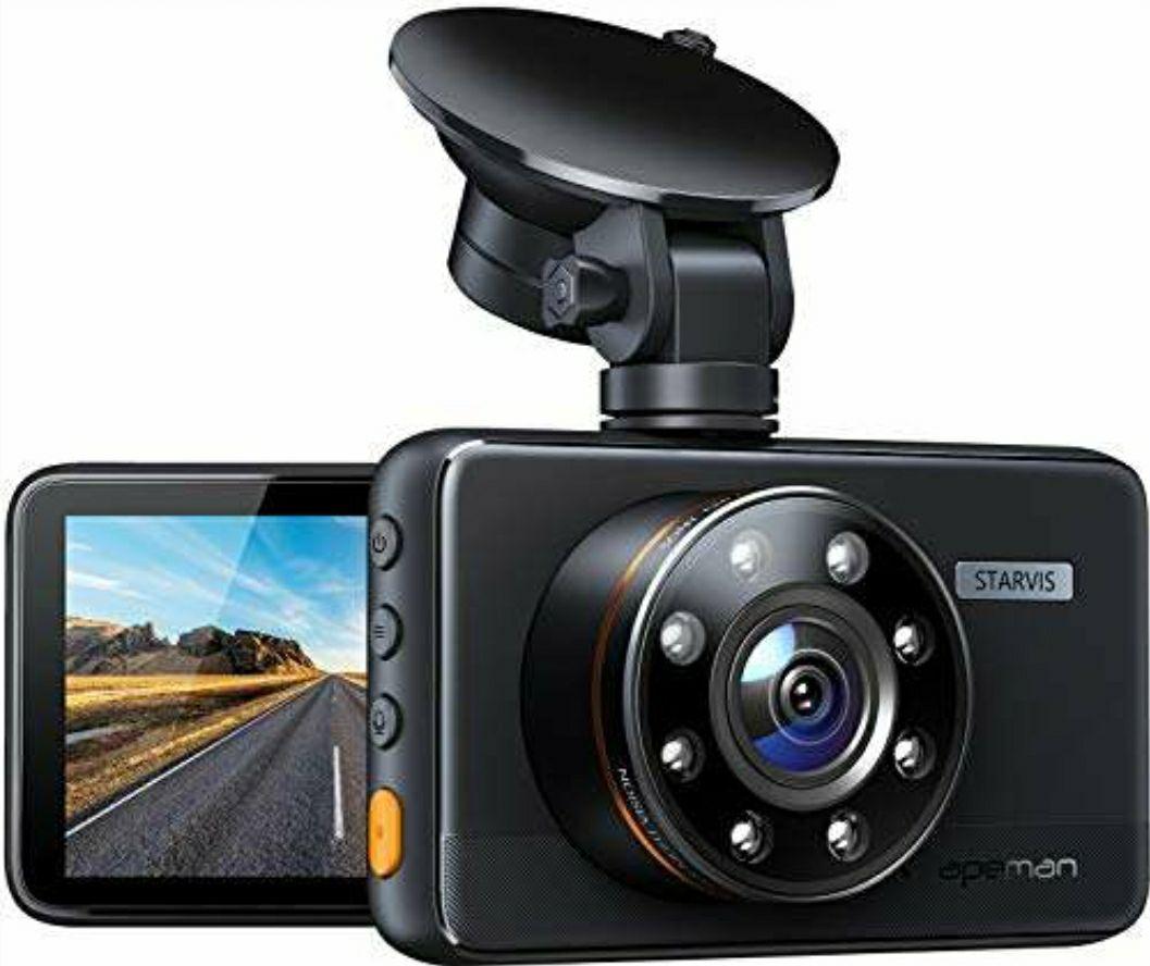 Apeman Dashcam, Full HD 1080p