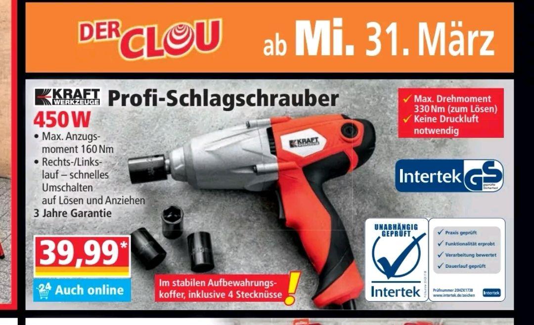 Norma Schlagschrauber auch online im Markt 39,99