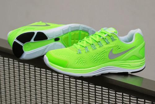 Nike LunarGlide+  4 G in Grün/Grau für 59,00€