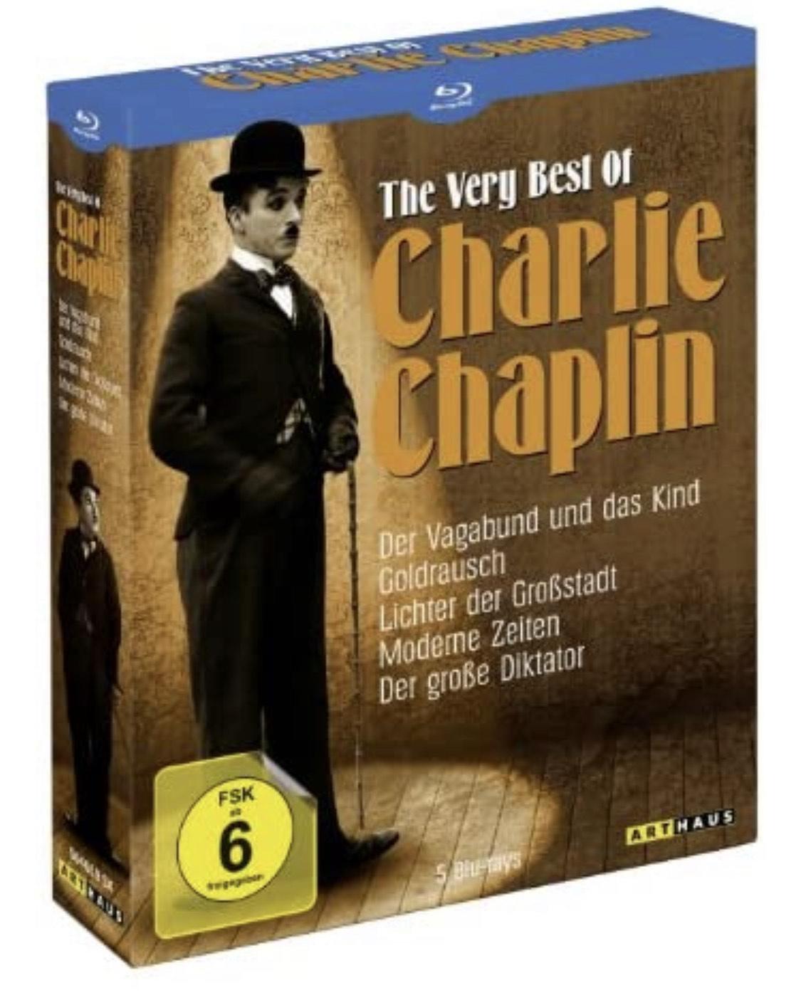 (prime) The Very Best of Charlie Chaplin [Blu-ray]