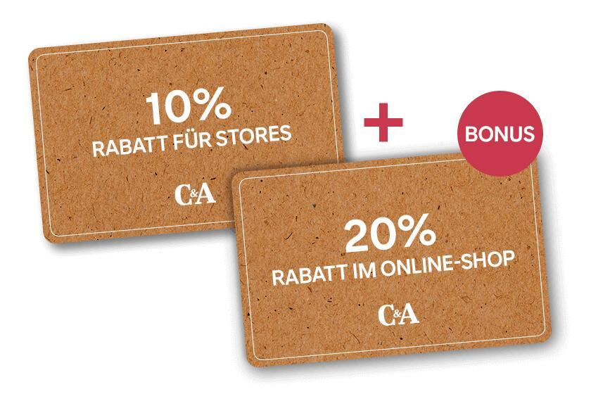 C&A 10% Filial Gutschein
