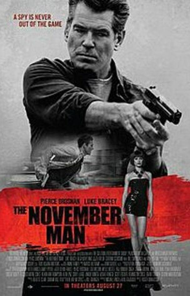 "[ZDF Mediathek] ""November Man"" mit Pierce Brosnan und Olga Kurylenko kostenlos streamen"