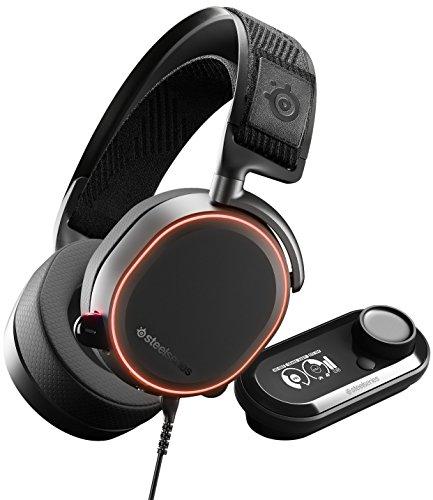 SteelSeries Arctis Pro GameDAC – Gaming-Headset – zertifizierte hochauflösende Audioqualität – ESS Sabre DAC - schwarz