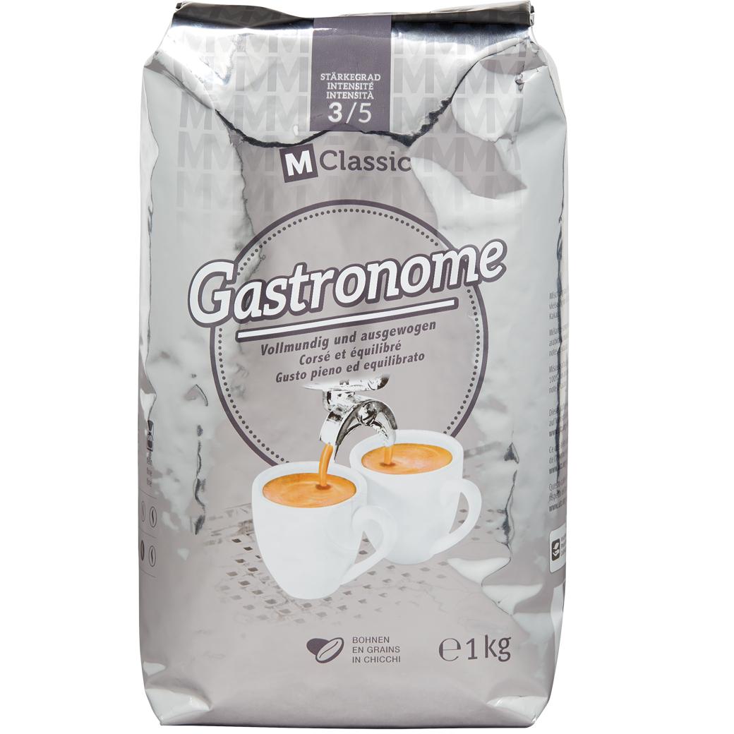 6kg x Kaffee Gastronome M-Classic Bohnen 9,19€ je Kg MHD 7/22