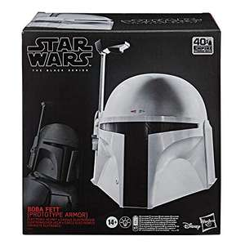 Hasbro Star Wars The Black Series Boba Fett Prototyprüstung Helm (E9499) für 85,27 Euro [Amazon.es]