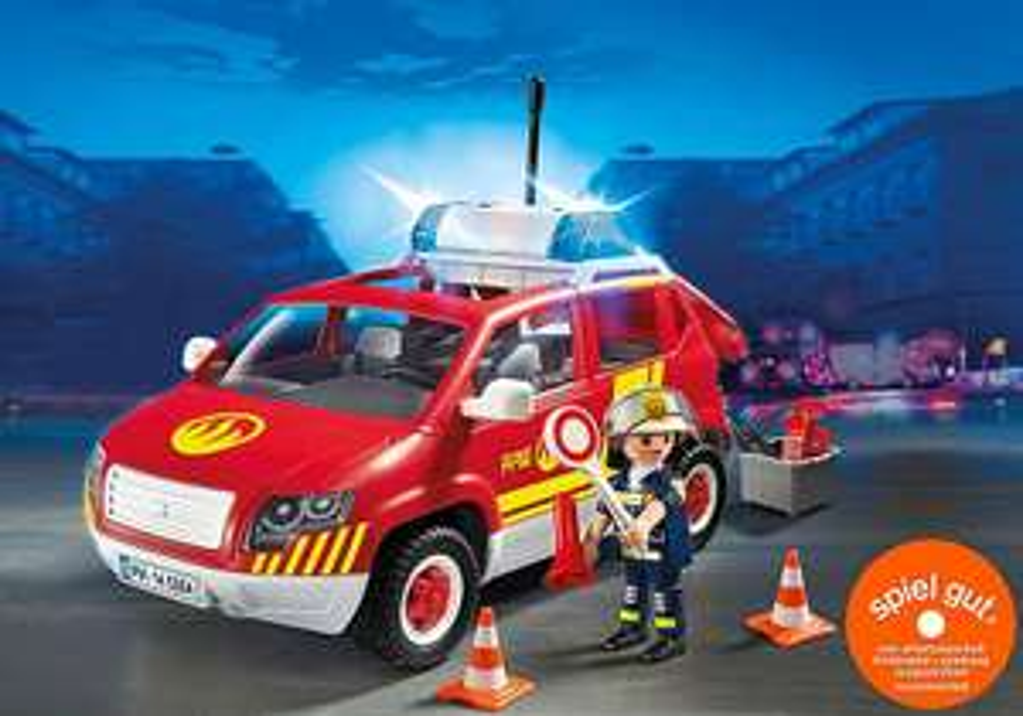 Playmobil City Action - Brandmeisterfahrzeug mit Licht und Sound (5364)