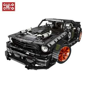 [Klemmbausteine] Ford Mustang Hoonicorn MOC 3169 Teile ohne RC aus Spanien