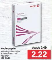 [Famila NW lokal] Xerox Performer Kopierpapier 500 Blatt