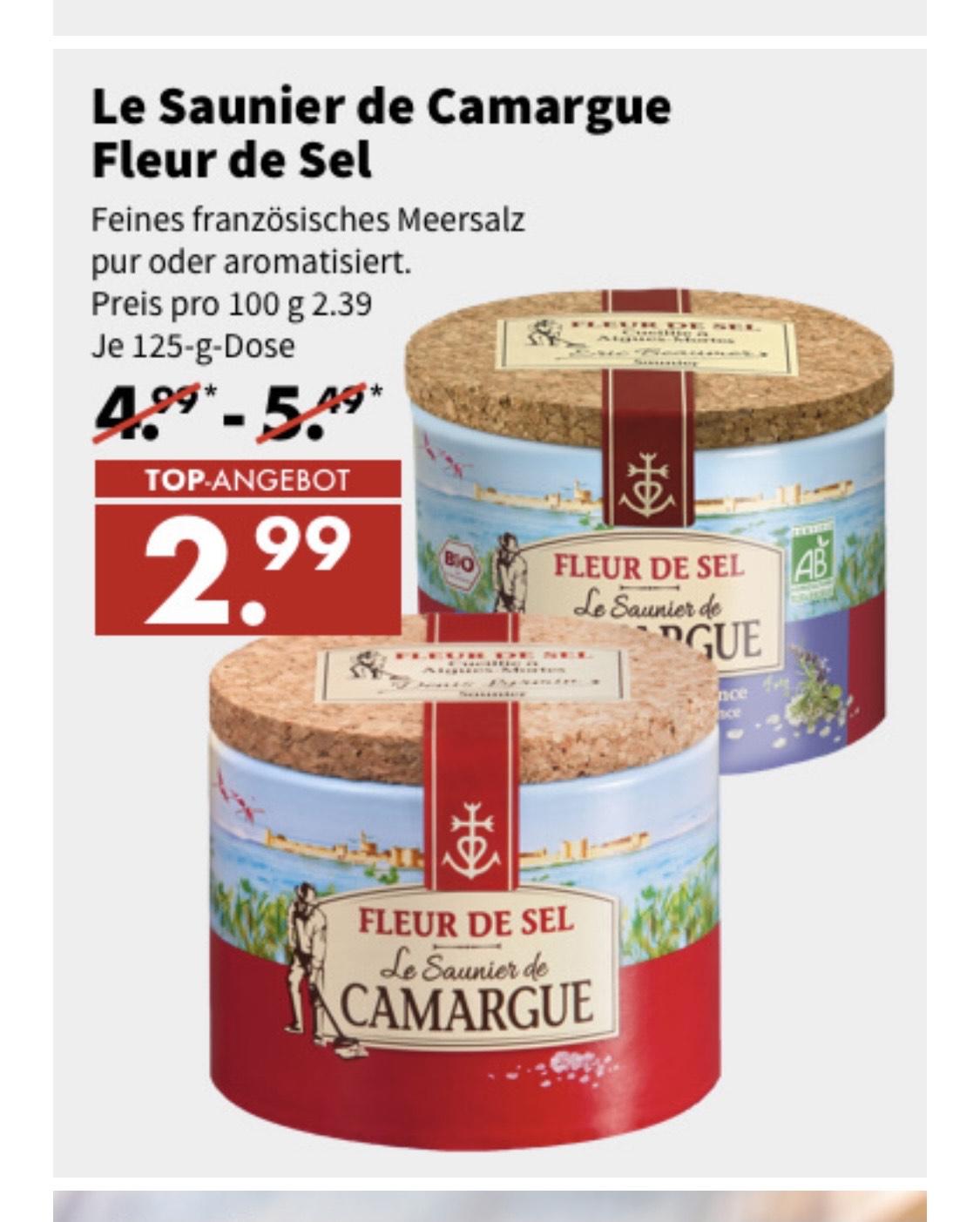 Fleur de Sel de Camargue Salz