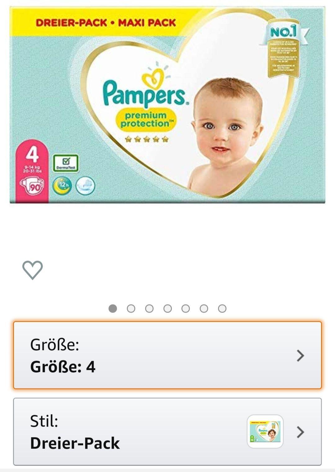Pampers Dreier Pack (ausgew. Kunden)