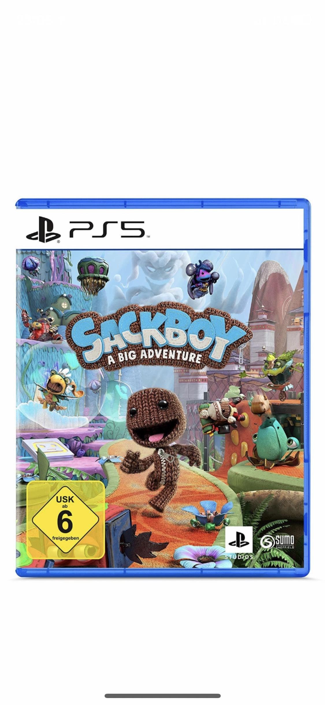 Sackboy A Big Adventure - PS5