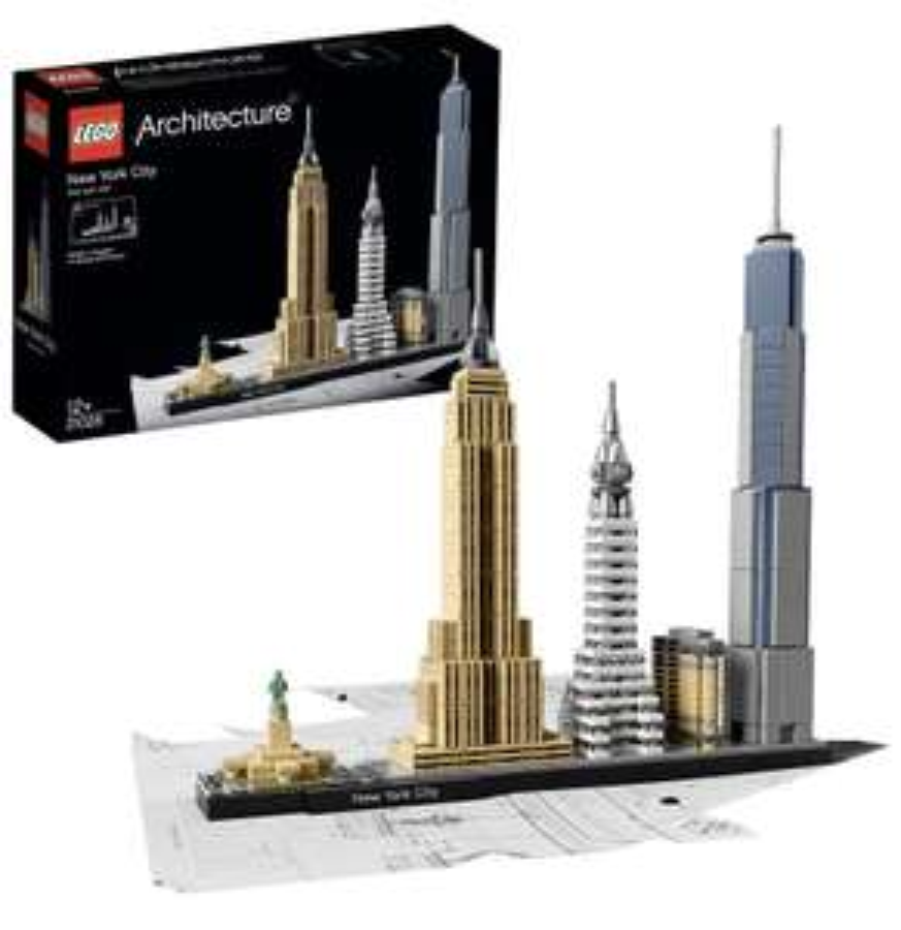 Amazon Prime Lego 21028 Architecture New York City