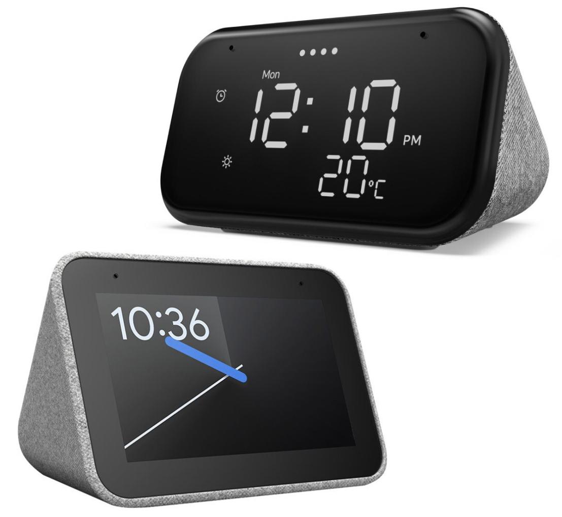 Lenovo Smart Clock Essential mit Google Assistant für 24,89€ oder Lenovo Smart Clock für 34,91€ inkl. Versandkosten