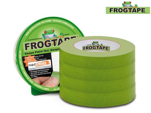 [ iBOOD ] 4x Frogtape / Malerabdeckband / 24 mm x 41,1 m
