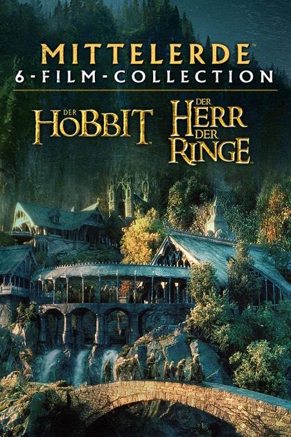 [iTunes] 4K Der Herr der Ringe und Der Hobbit 6-Film Kollektion