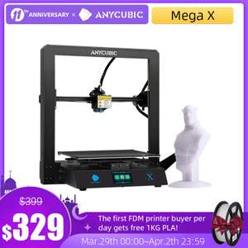 ANYCUBIC i3 Mega X 3D Drucker | Versand aus DE