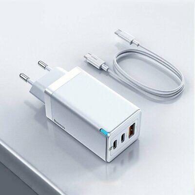 Baseus USB C Ladegerät / Netzteil mit 65W + 100W USB C Ladekabel für 22,98€