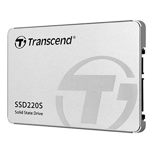 Transcend »SSD220S« SSD-Festplatte (480 GB) 500 MB/S Lesegeschwindigkeit, 480 MB/S Schreibgeschwindigkeit)