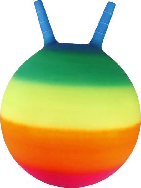 [thalia KULTCLUB] VEDES Kinder-Spielzeug für draußen (Stelzen, Boccia, Hüpfball u.w), zB Sprungball Regenbogen 45 cm für 6,83€ mit Gutschein