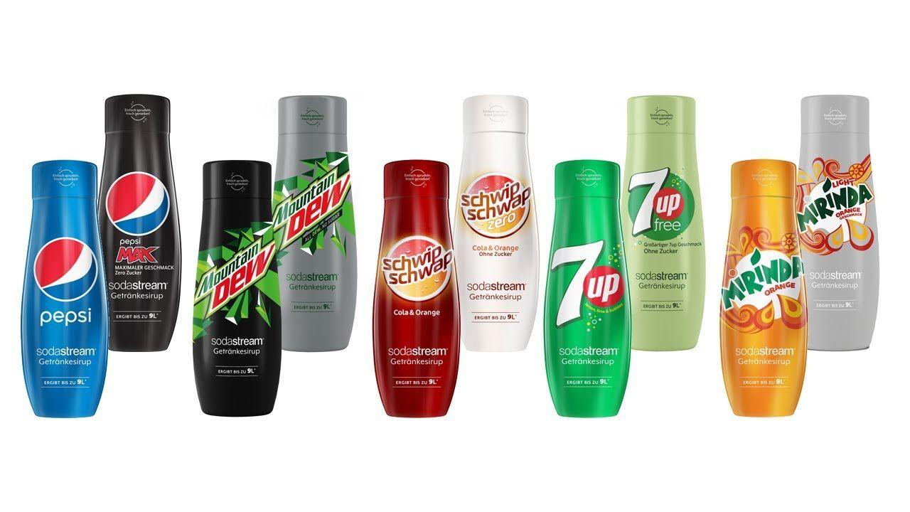 [Lokal Rewe Hiddenhausen] Pepsi, Mirinda,... Sodastream Sirup für 3€