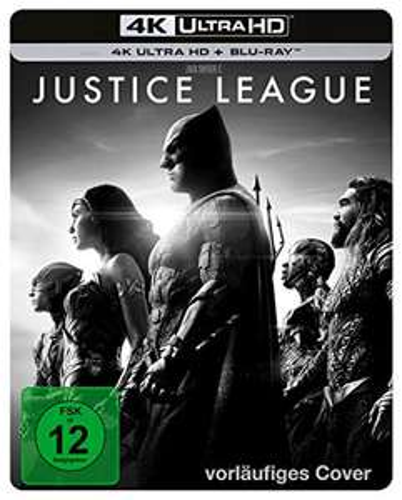 Zack Snyder's Justice League - limited Steelbook [4K Ultra HD + Blu-Ray] Vorbestellung