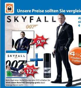 riechen wie Bond, James Bond 007 Deospray + Skyfall BluRay