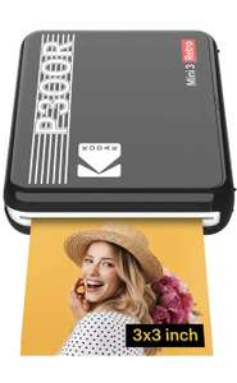 Kodak Mini 3 Retro Handy Instant Drucker über Amazon