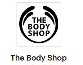 [ Shoop | The Body Shop ] Nur Heute - 10% Cashback und 15% auf Gesichtspflege & Makeup