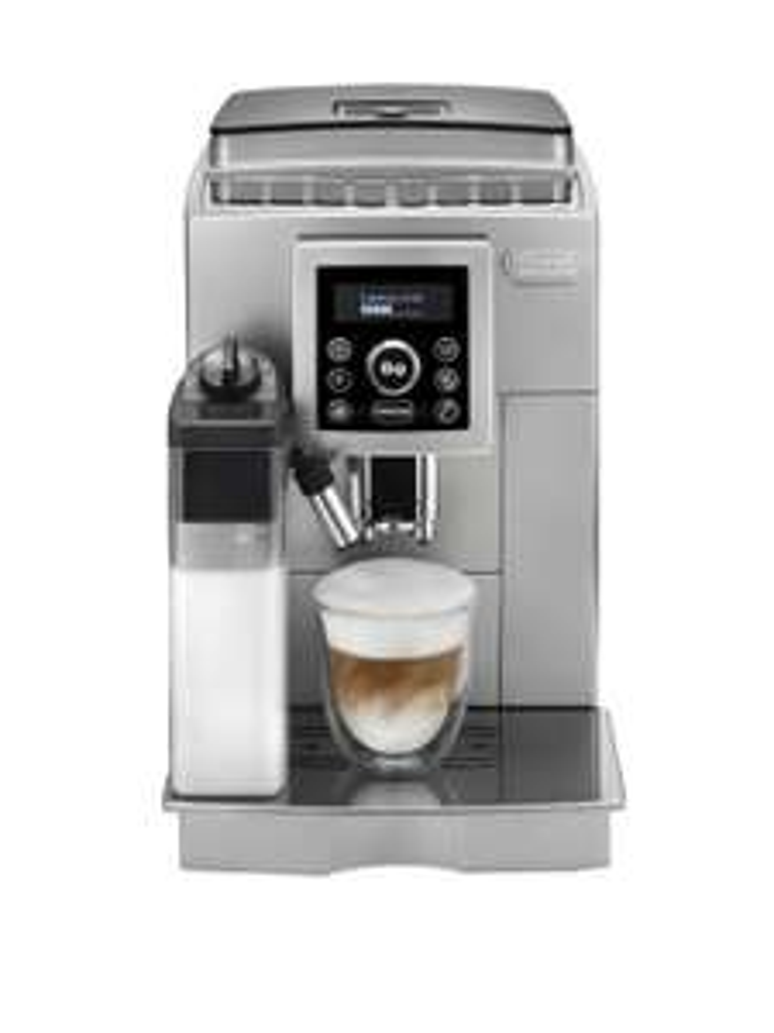De'Longhi ECAM 23.466.S Kaffeevollautomat mit Milchsystem