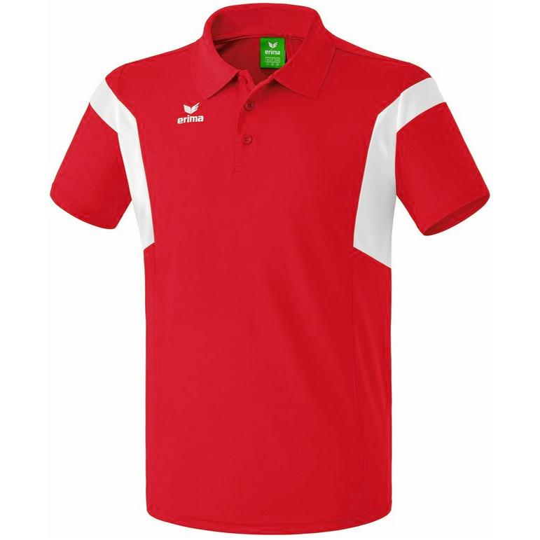 Erima Classic Team Polo-Shirt für 4,44€ + 3,95€ VSK (Größe M - XL, + Kindergröße 128 + 152) [SportSpar]
