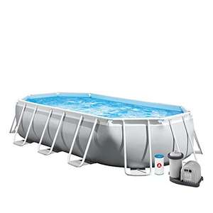 Intex Prism Frame Oval Pool Set 503 x 274 x 122 cm @ Amazon