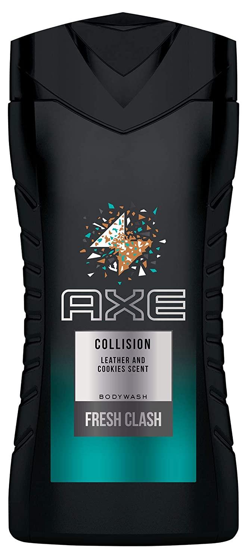 [Prime Sparabo] 4 x Axe Duschgel Collision Leather und Cookies für ein erfrischendes Duscherlebnis, 250 ml (1,02€ pro Flasche)