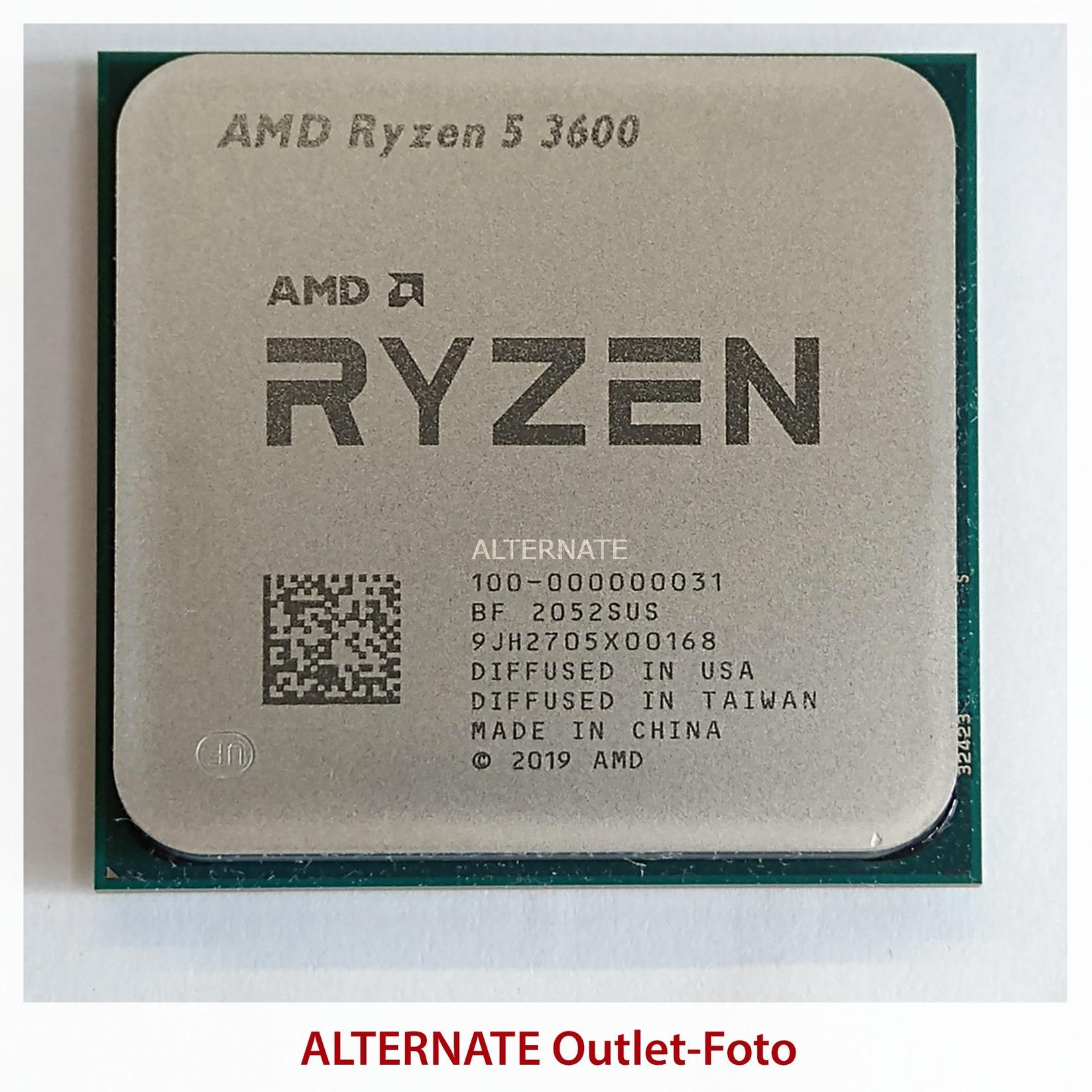AMD Ryzen™ 5 3600, Prozessor (boxed, Outlet)