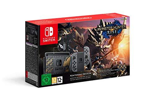 Nintendo Switch Monster Hunter Rise Edition - verfügbar, jetzt Lieferung ca. 16.04- (Amazon.de 389,99€ oder amazon.fr 372,39€)