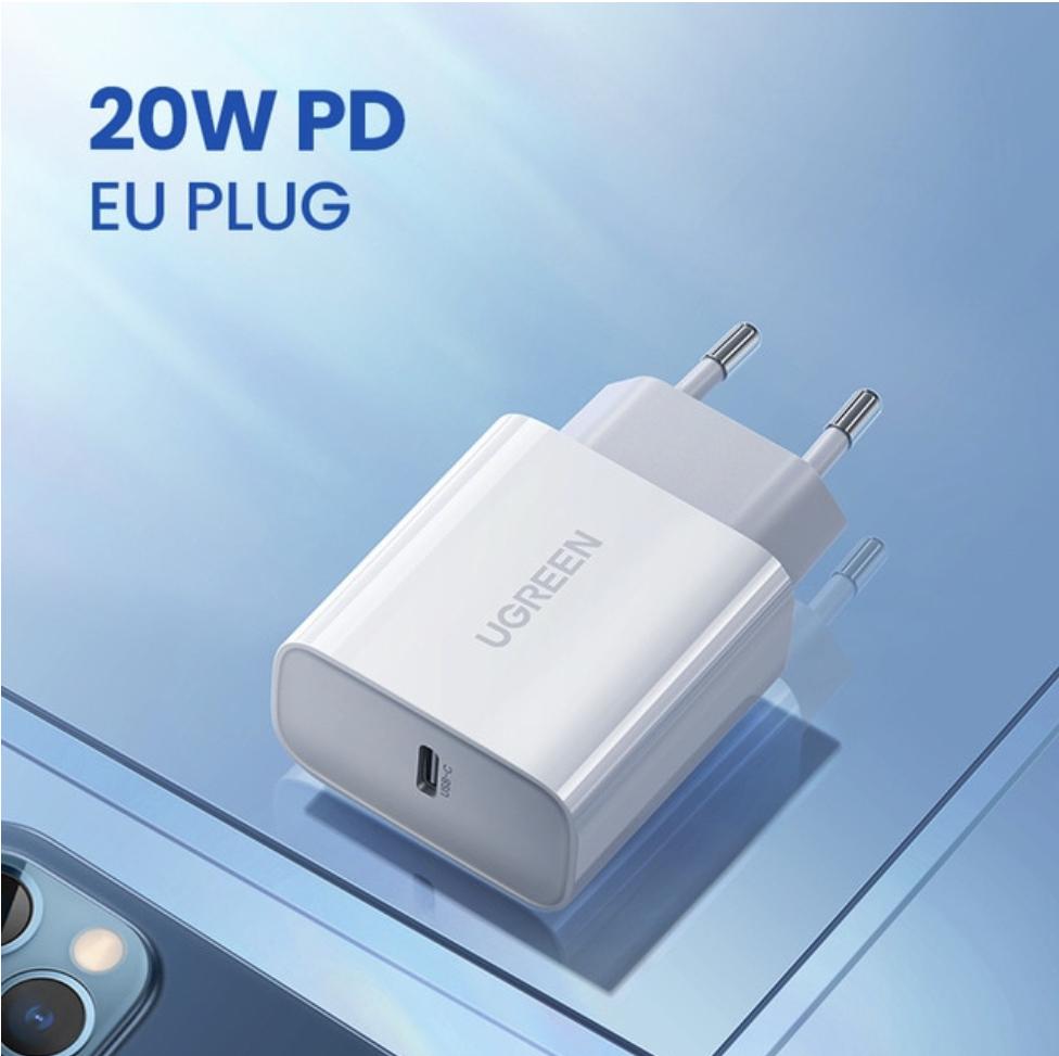 [AliExpress] UGREEN 20W Powerdelivery PD USB-C Netzteil