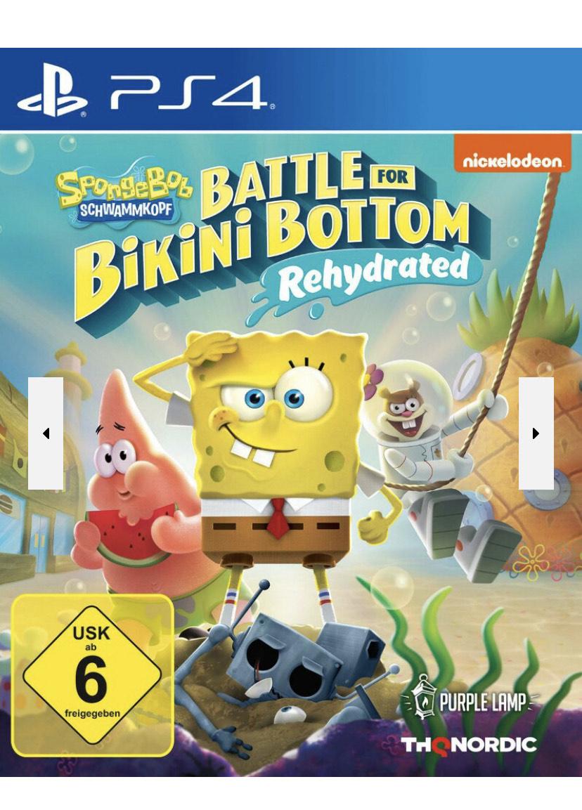 Spongebob SquarePants - Battle for Bikini Bottom Rehydrated Ps4