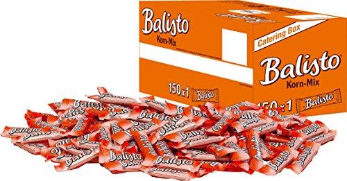 Balisto Schokoriegel | Korn-Mix, orange | 150 Riegel in einer Box (150 x 18,5 g = 1 x 2,775 kg