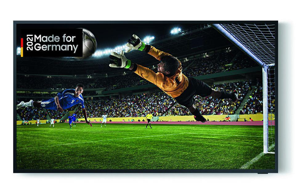 Samsung The Terrace (2020) GQ65LST7TAUXZG QLED TV (für den Außenbereich, 65 Zoll (163 cm), 4K UHD, Smart TV, Sprachsteuerung)