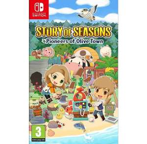 Story of Seasons: Pioneers of Olive Town [Nintendo Switch]