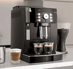 DELONGHI Ecam 21.116.B Magnifica S Kaffeevollautomat mit herausnehmbarer Brühgruppe schwarz für 259€ inkl. Versandkosten
