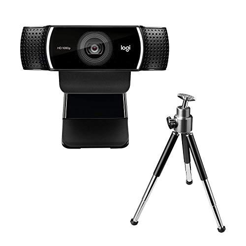 Logitech C922 Webcam mit Stativ