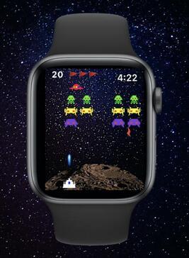 Invaders Mini - iPhone & Smartwatch Game kostenlos (iOS)