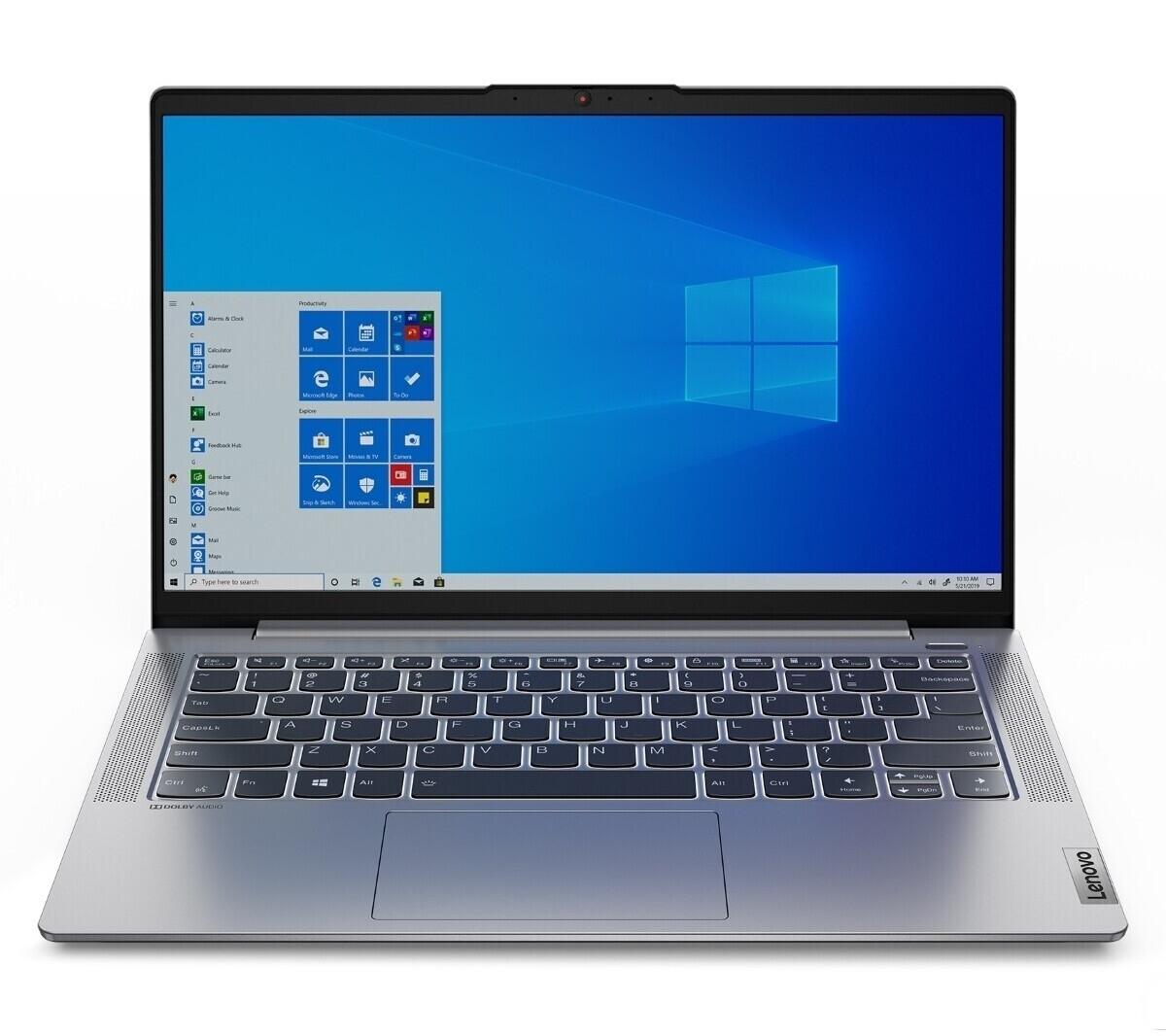 """Lenovo IdeaPad 5 14ALC05 (14"""", FHD, IPS, 300cd/m², Ryzen 5 5500U, 16/512GB, USB-C mit DP & PD, HDMI 1.4, SD, 56.5Wh, Win10, 1.38kg)"""