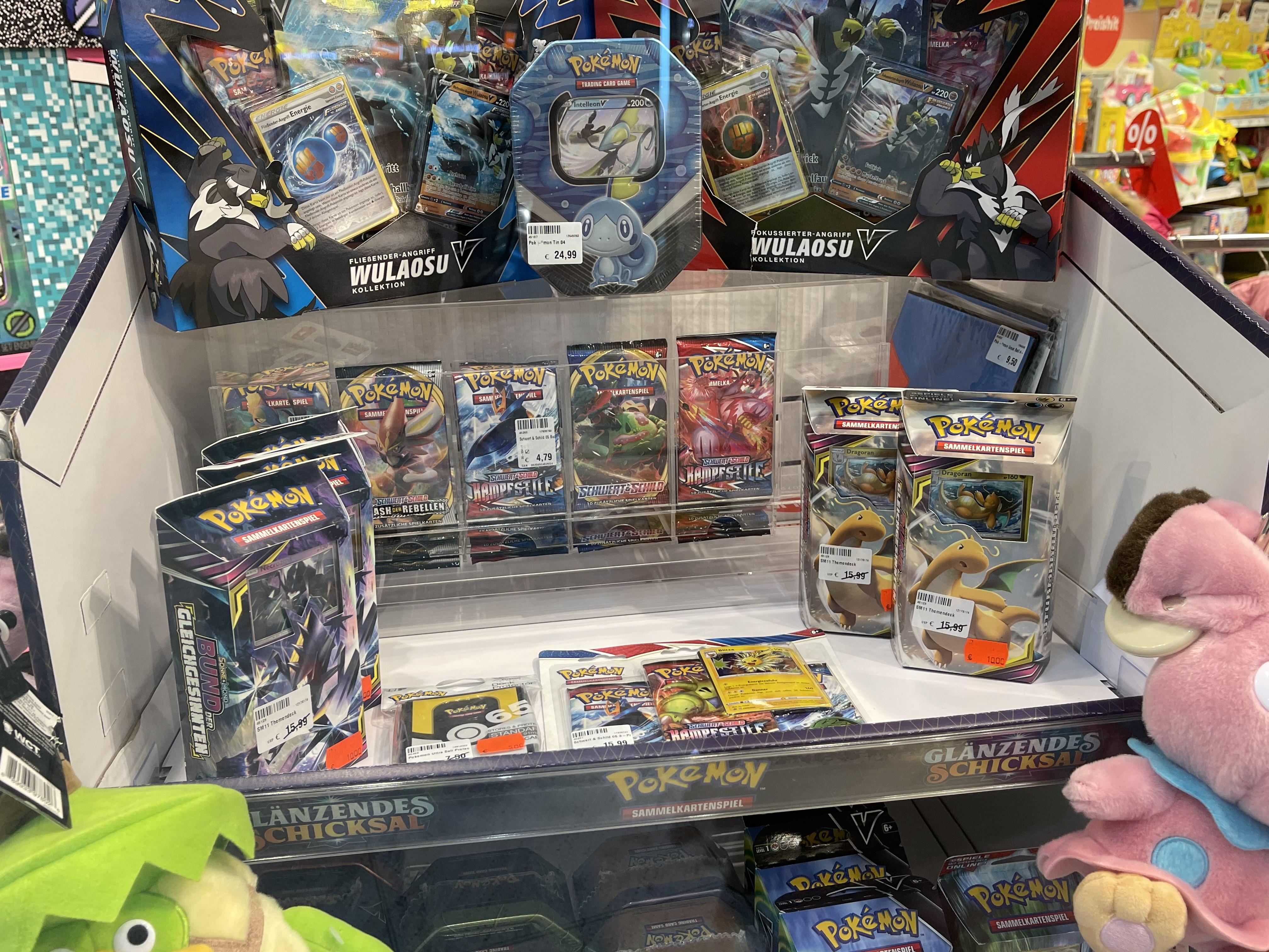 Pokemon TCG Themendecks Angebot + Verfügbarkeit Karten [ Lokal Kassel ]