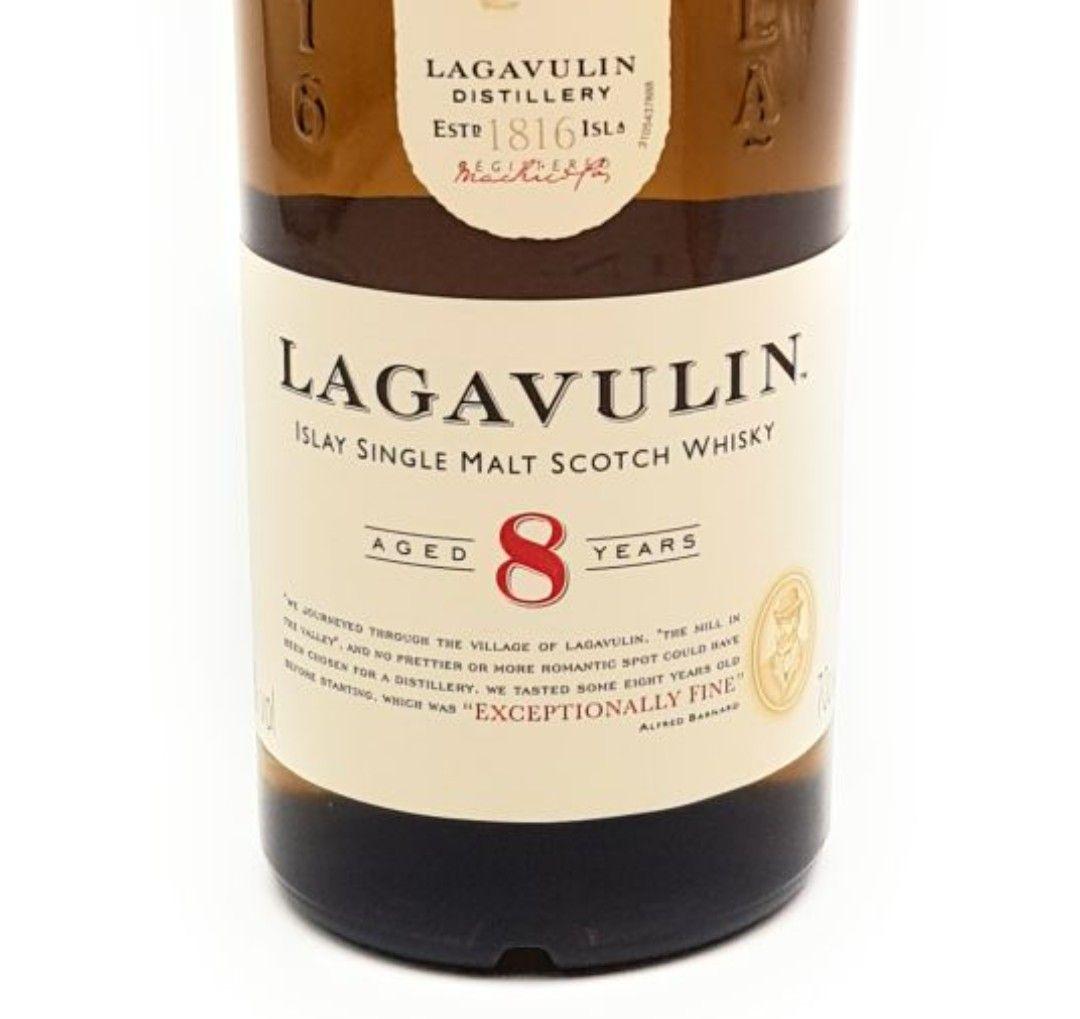 Lagavulin Islay 8 Jahre Single Malt Scotch Whisky 1x 0,7 l Alkohol 48% vol.