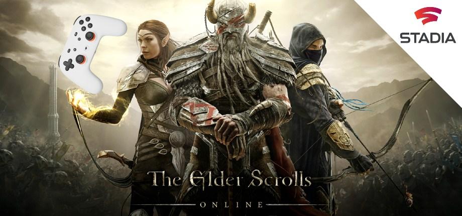 The Elder Scrolls Online (ESO) 2 Wochen kostenlos spielen [Stadia Pro]