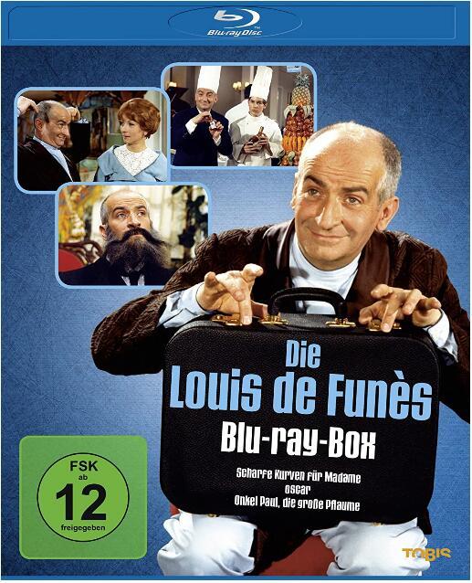 Die Louis de Funès Blu-ray-Box für 10,98€ (JPC)