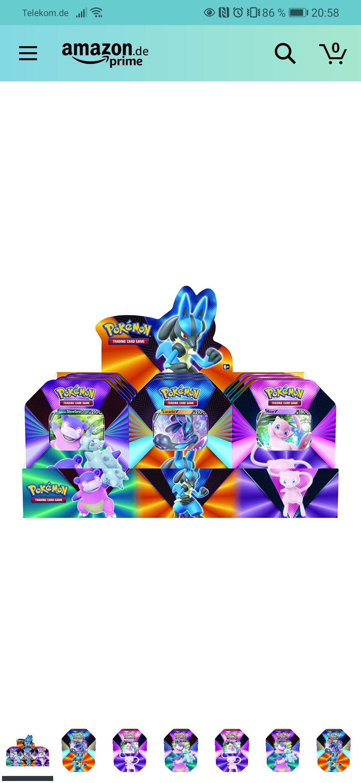 Pokemon Tinbox ( mit Amazon Prime: 19,43€)