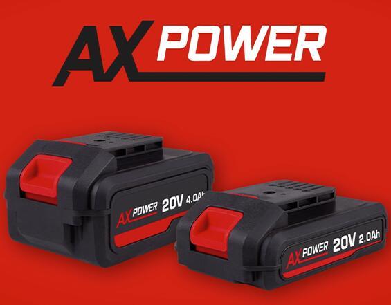 FERM AX Power System 20V (Akku) 2,0 Ah oder 4,0 Ah, Schnell-Ladestastion, Ferm-Geräte