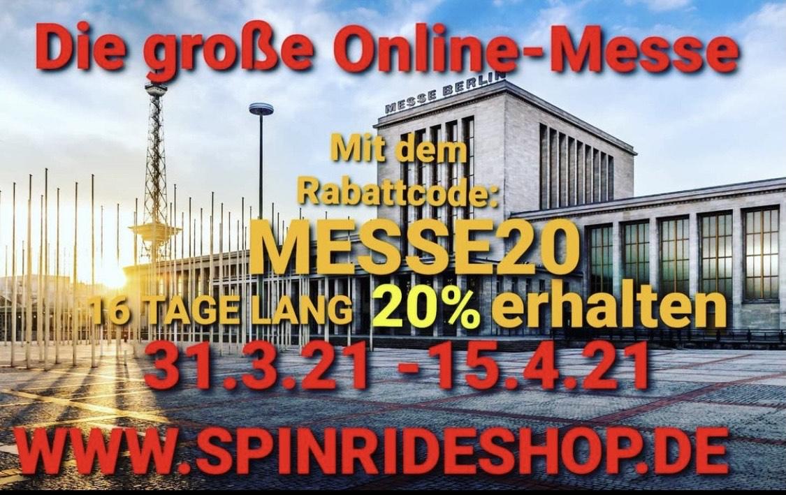[Angeln] online Messe beim Spinrideshop
